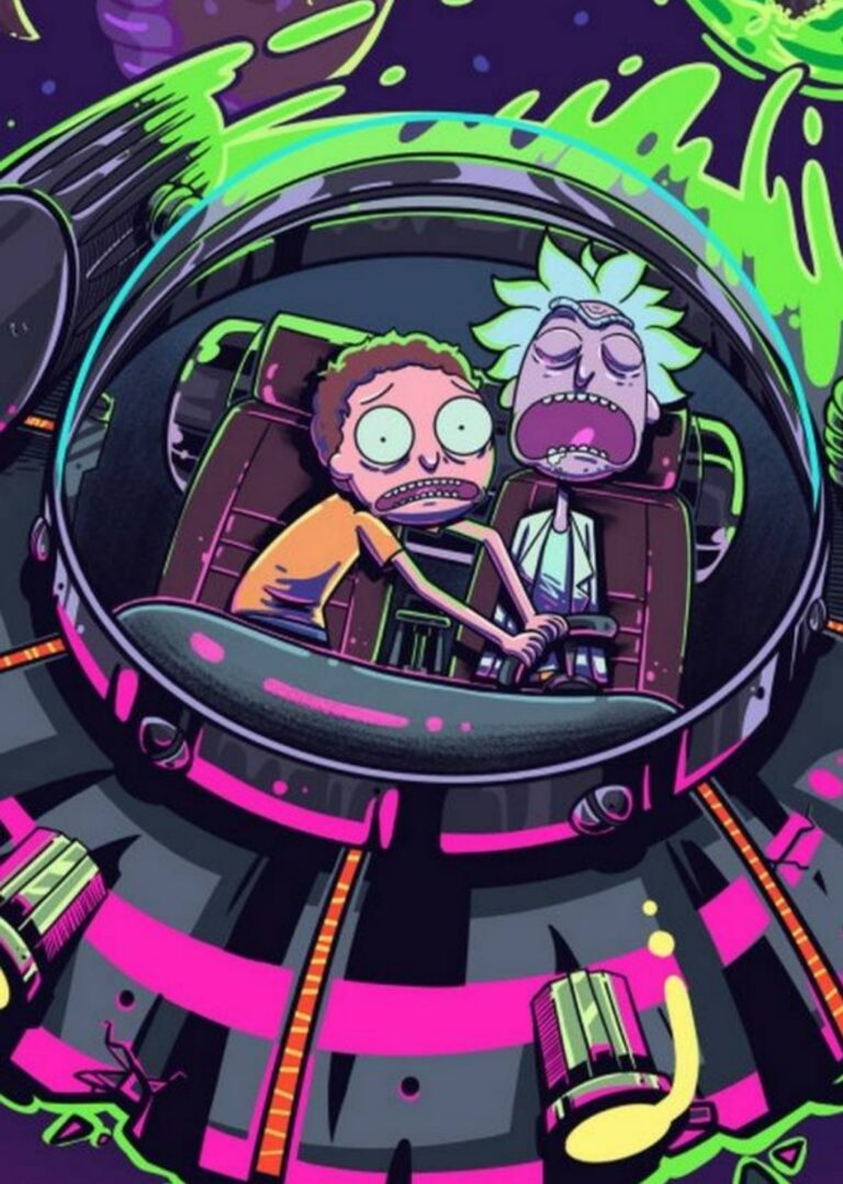 rick and morty pic
