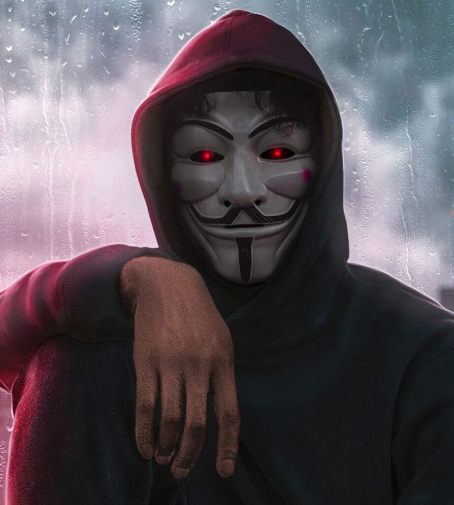anonymous mask profile dp