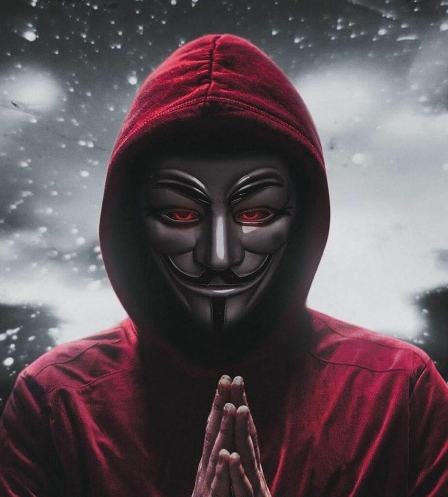 anonymous mask profile pics