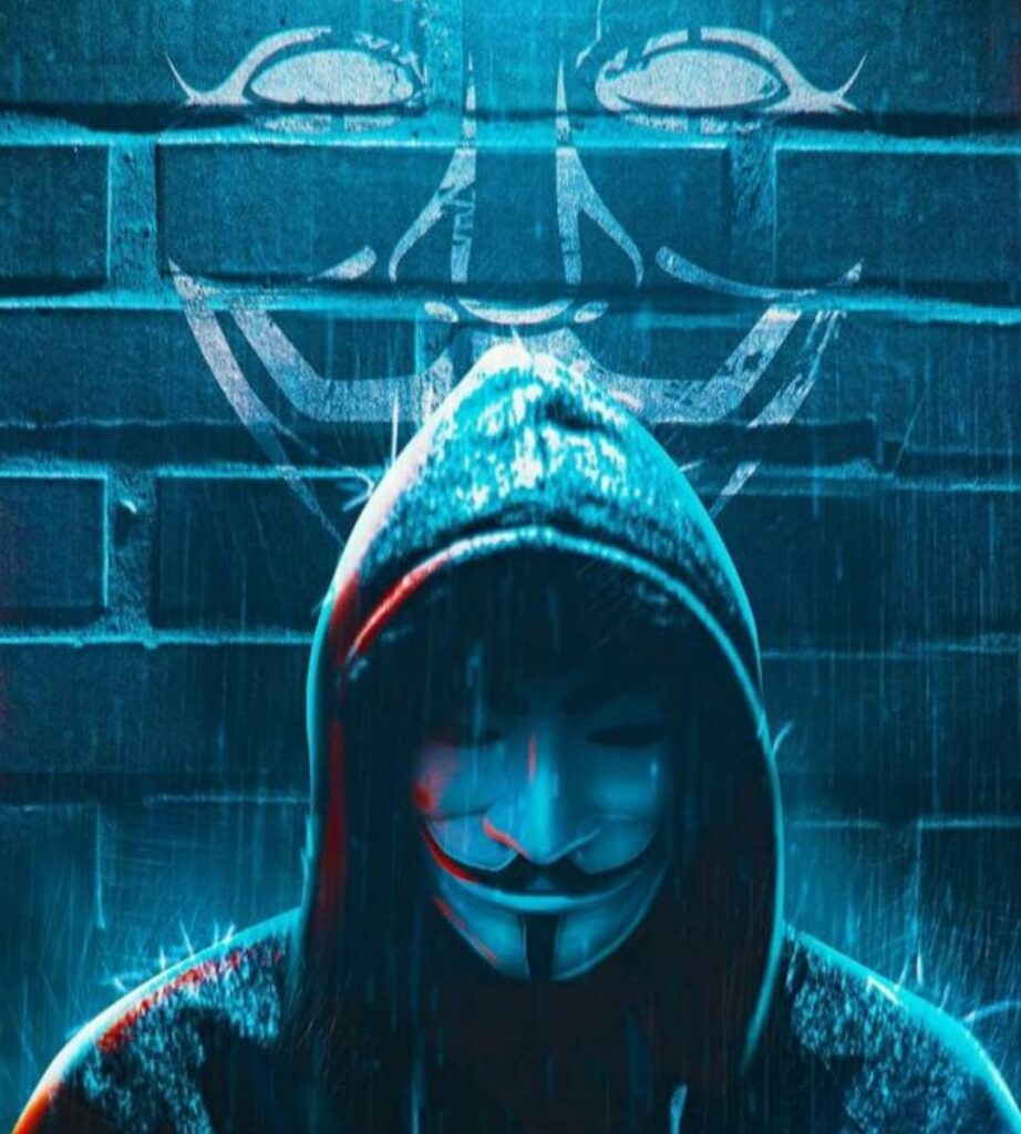 anonymous mask profile picture