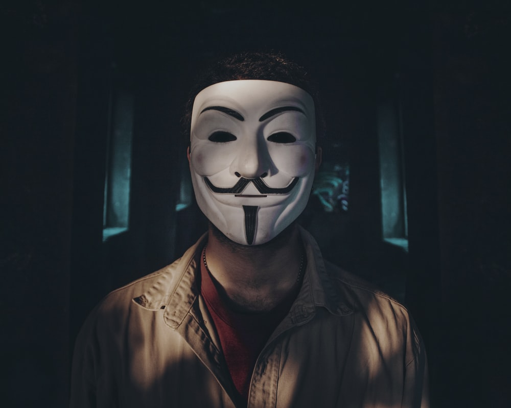 anonymous mask profile picture for tiktok
