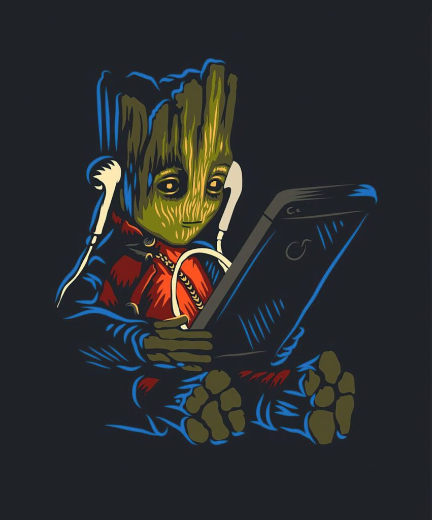 baby groot profile picture for facebook