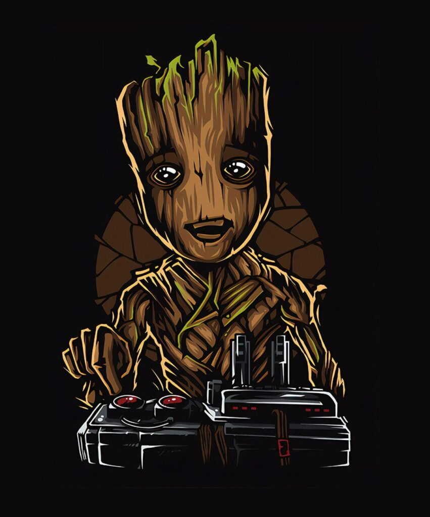 baby groot profile picture for instagram