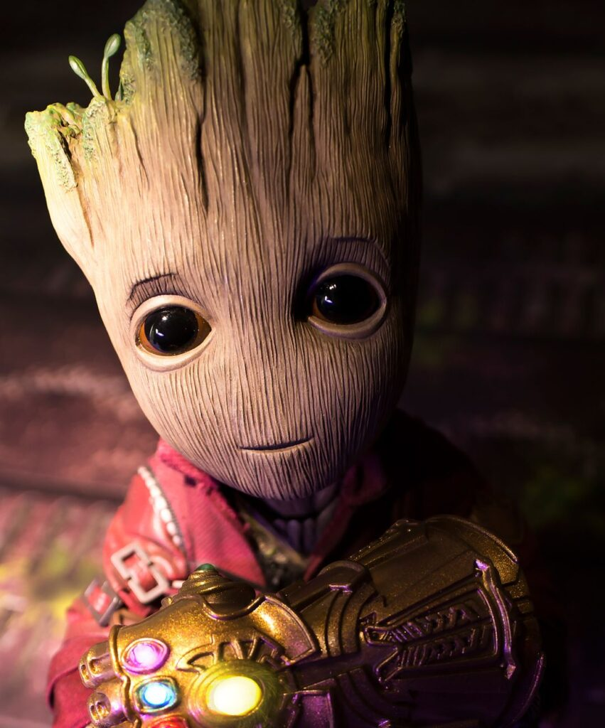 baby groot profile picture for whatsaap