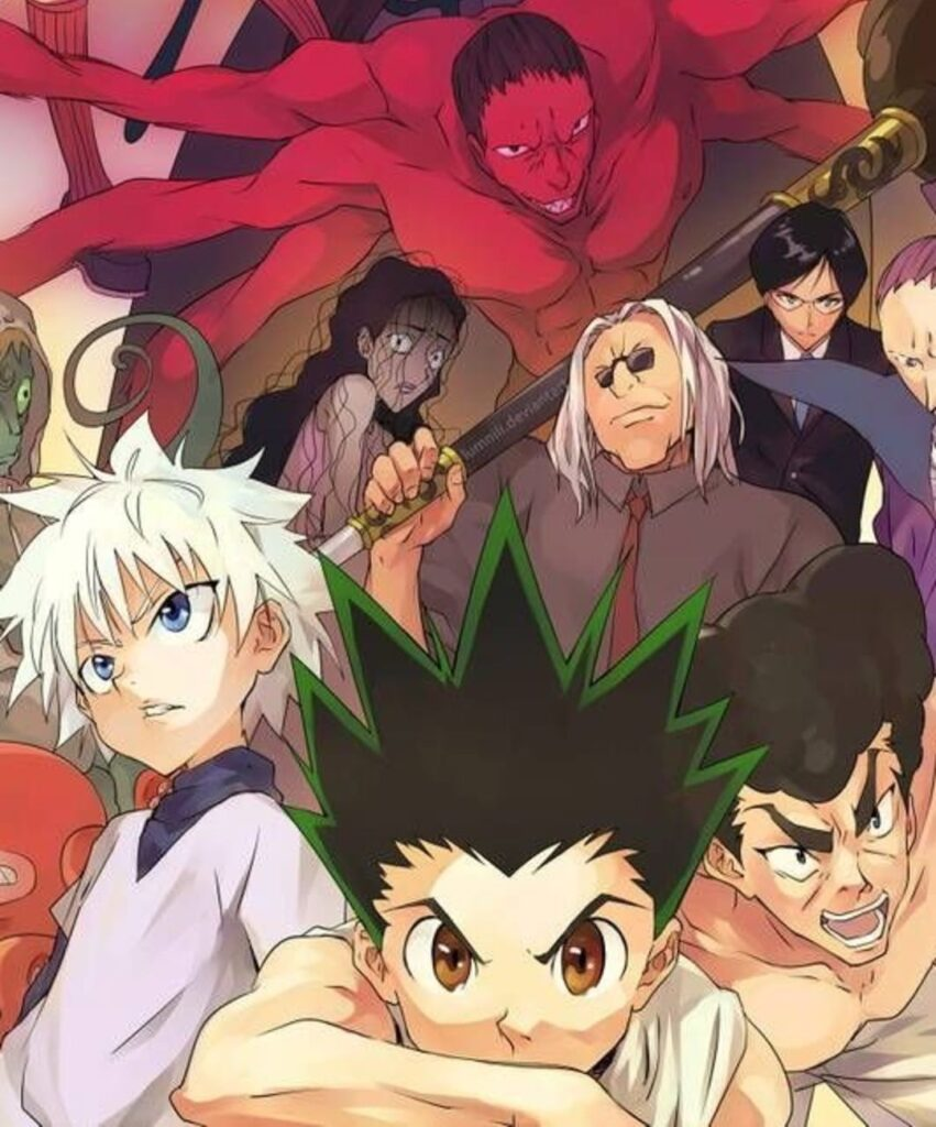 hunter × hunter profile picture for whatsaap
