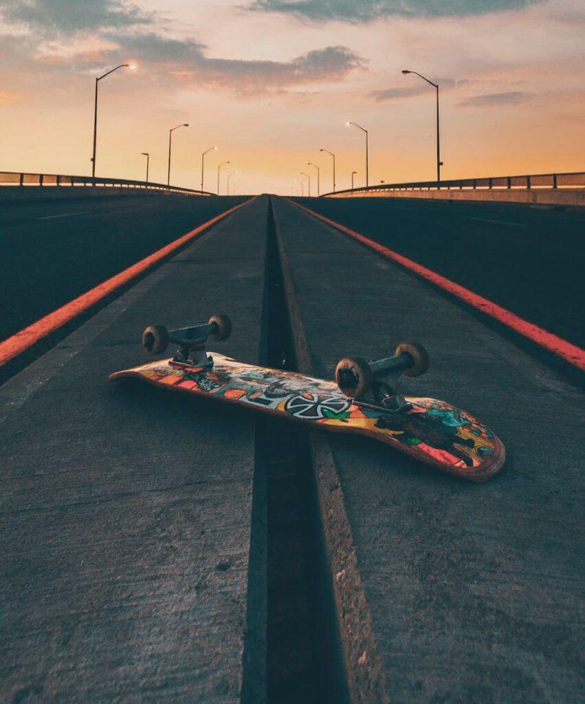 skateboard profile pic