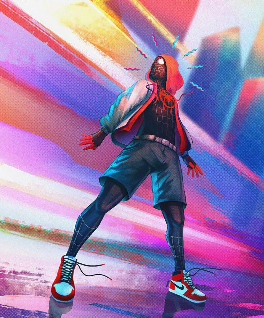 spider verse profile dp