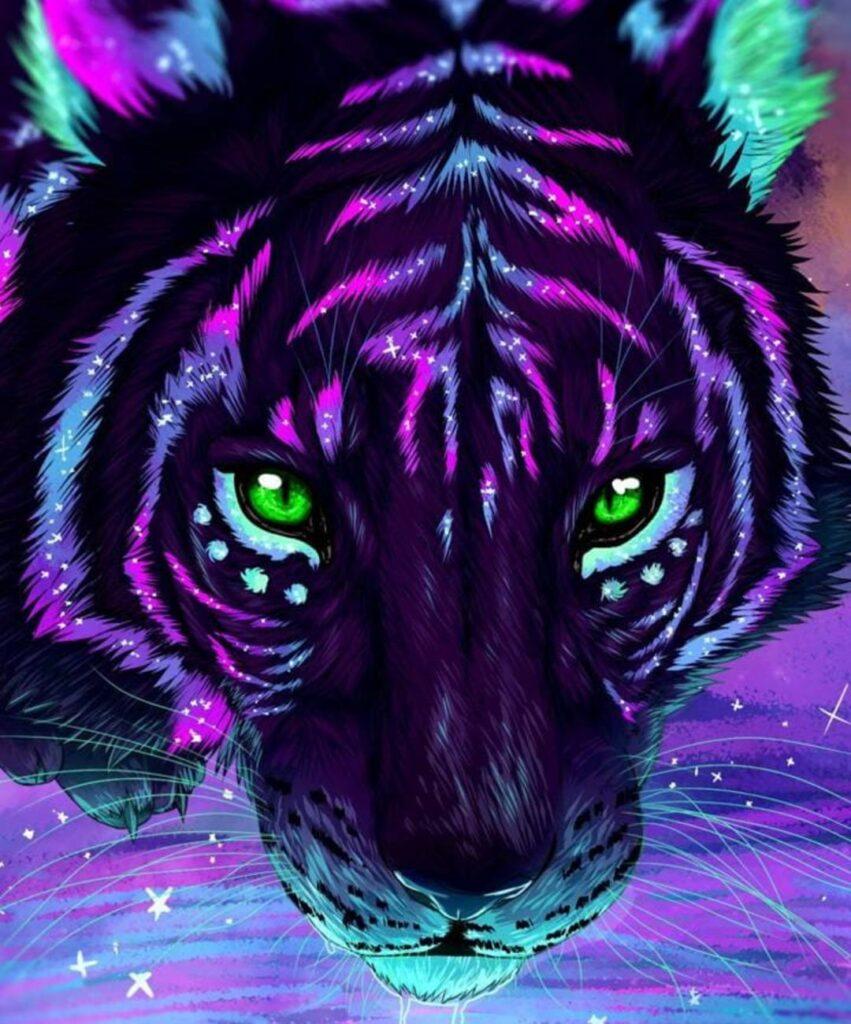 tiger profile picture for tiktok