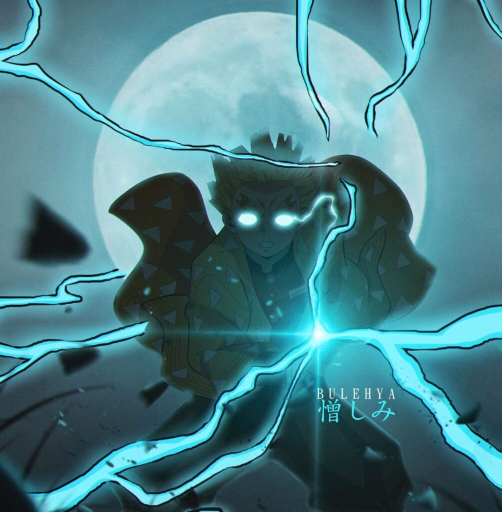 zenitsu profile picture for facebook