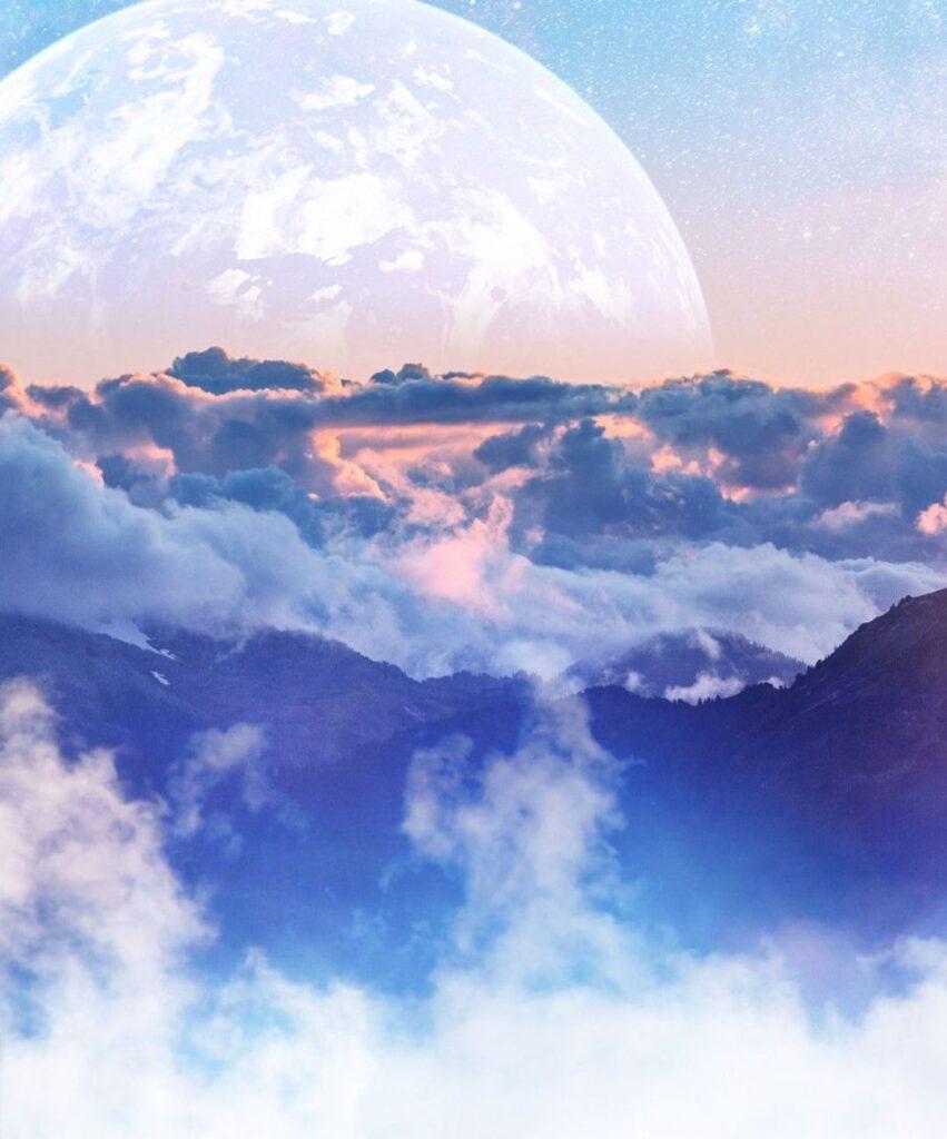 clouds profile picture for tiktok