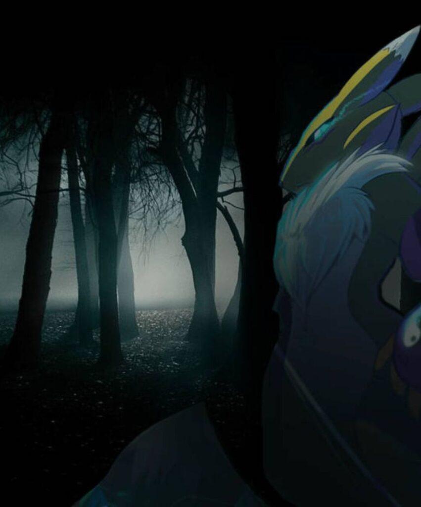 dark forest images