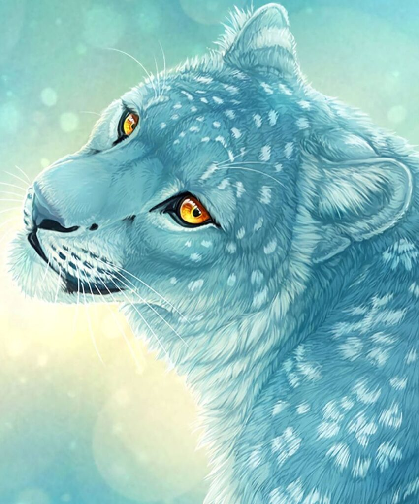 leopard profile picture for instagram